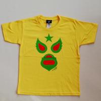 キッズ マスク1 Tシャツ イエロー