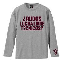 ルード テクニコ ロングスリーブTシャツ 杢グレー
