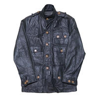 WOOLRICH(ウールリッチ) レザーハンティングジャケット