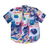 シルクバンドカラーシャツ