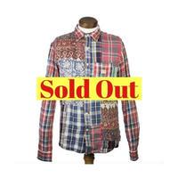 DENIM&SUPPLY Ralph Lauren(デニムアンドサプライ ラルフローレン) パッチワークシャツ