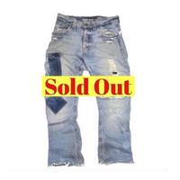 Nudie Jeans(ヌーディージーンズ) ダメージ加工デニム パンツ