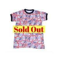 Budweiser(バドワイザー) 総柄Tシャツ②