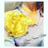 Corsage de Beau  Saison Miki Dogwood yellow