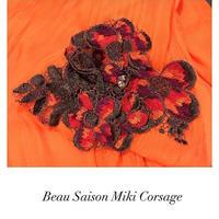 Corsage de Beau  Saison Miki Orchid orange