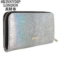 skinnydip スキニーディップ 長財布 レディース ラウンドファスナー FROG PURSE 小銭入れ キラキラ カード 収納 海外ブランド