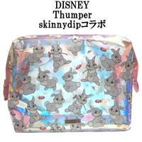 Disney ディズニー skinnydip コラボ タンパー メイクアップバッグ 大きめ スキニーディップ とんすけ うさぎ