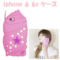 アウトレット Valfre SHELLULAR iphone6 iphone6s ケース 立体 ホラ貝 シリコン おしゃれ 大きい ピンク
