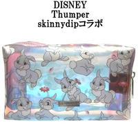 Disney ディズニー タンパー メイクアップバッグ skinnydip コラボ 化粧ポーチ 小物入れ thumper make up bag