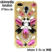 アウトレット SKINNYDIP スキニーディップ ロンドン ビジュー iPhone 5 5S SE Triton Case キラキラ ケース