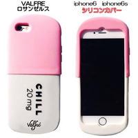 Valfre ロサンゼルスの可愛いiphone6sケース かわいいiphoneケース チルピルお薬のiphone6のシリコンカバー ピンク