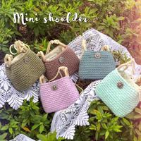 flowerbutton mini bag