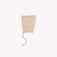 ベビーボンネット-Honey Stripe