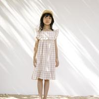 Liilu Lina Dress-Rustic Check