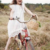 Konges Sloejd POSEY DRESS -CLEAR WHITE