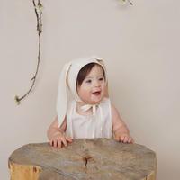 Briar Baby  IVORY BUNNY BONNET