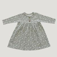 前ボタンワンピース - Sadie Floral
