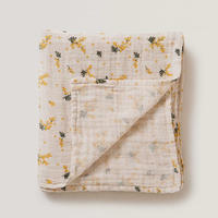 Garbo & Friends Mimosa Muslin Swaddle Blanket