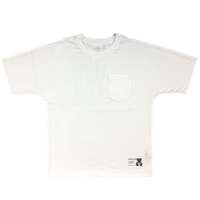 スーピマコットンドルマンTシャツ-WHITE-Balancircular