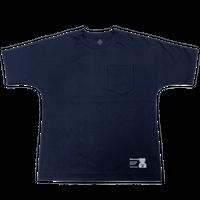スーピマコットンドルマンTシャツ-NAVY-Balancircular