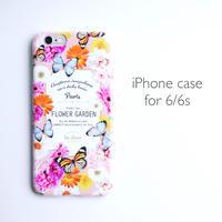 iPhone case for 6/6s 【FLOWER GARDEN】