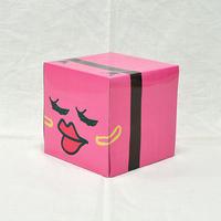 べい子キューブ型ティッシュBOX