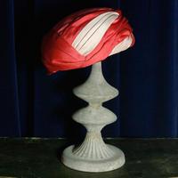 【Vintage 】Design Hat  / ピンクデザインハット