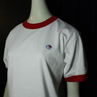 【bed】Original Logo Trim T Shirt / red