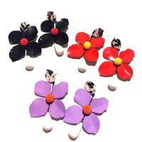 【Selected item】Flower  pierce / お花ピアス