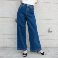 【used】Lee denim wide pants / デニムワイドパンツ