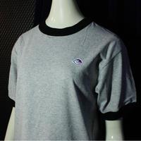 【bed】Original Logo Trim T Shirt / gray