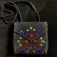 【Used】Bijou black shoulder bag
