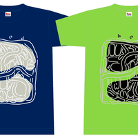 T-Shirt 2016 S/S Dark Navy× Light Grey