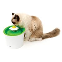 フラワーファウンテン (流れる水飲み) ネコ用 給水機