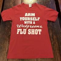 インフルエンザ メッセージTシャツ
