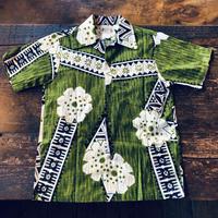 60's Polynesian Bazaar WAIKIKI,HAWAII ビンテージハワイアンシャツ