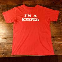 I'M KEEPER プリントTシャツ