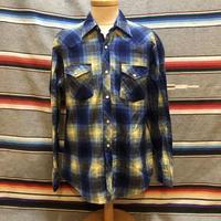 BJ-R ネルウエスタンシャツ