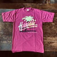 Made in USA HAWAII ネオンカラー発泡プリント Tシャツ