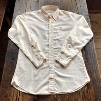 80's Levi's サドルマン刺繍 ボタンダウンシャツ