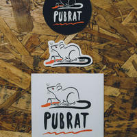 "PUBRAT ""S.S.(Sticker Set)"" (ステッカーセット)"