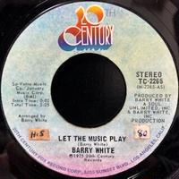 Barry White / Let The Music Play (7″)