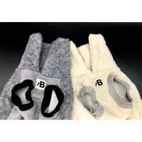 Layered vest 【grey】