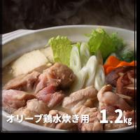 Y0012 オリーブ鶏水炊き用 1.2kg【送料無料】