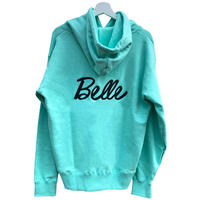 belle belle (ベルベル)  Back embroidery  rogo パーカー