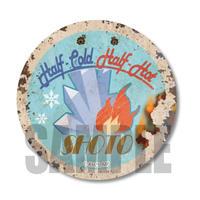 レトロ看板缶バッジ僕のヒーローアカデミア/轟 焦凍_CBLH-05