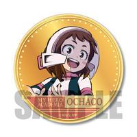 きゃらメダル缶バッジ 僕のヒーローアカデミア/麗日 お茶子