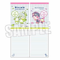 B5ノート アイドリッシュセブン×サンリオキャラクターズ/Re:vale