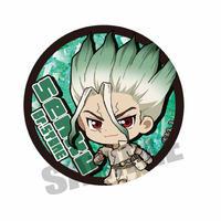 てくトコ缶バッジ Dr.STONE/石神 千空_CBDB-01