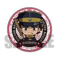 <再販>ごちきゃら缶バッジゴールデンカムイ/杉元 佐一_CBKE-01